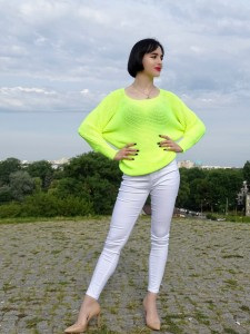 Sweter NEON YELLOW